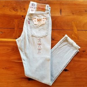 New Levi's Busted Distressed Knee Vintage 24 25 26
